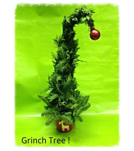 WhoVille Grinch Tree