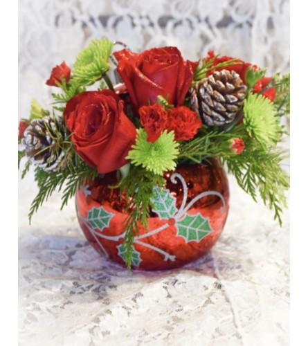 Teleflora Deck the Holly Ornament 2019