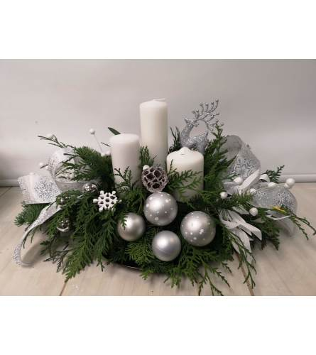 Silver Centerpiece  By Jennifer