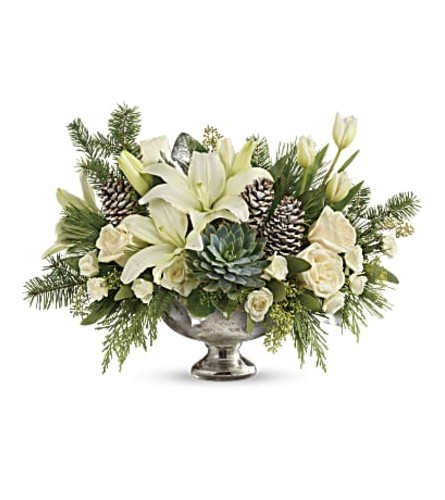 Teleflora's The Winter Wilds Centerpiece