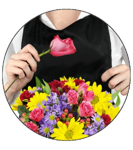 Florist's Choice for Sympathy and Funeral (VASE)