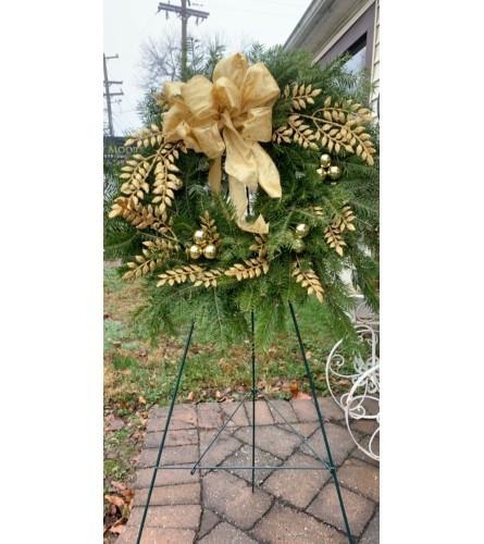 Shiny and Bright Wreath