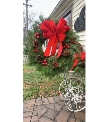 Classically Christmas Wreath