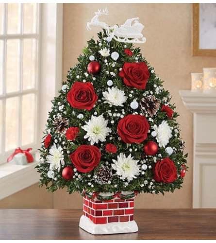 CHRISTMAS TREE CHIMNEY