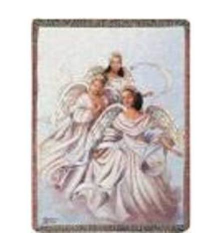 Angelic Trio Tapestry Throw