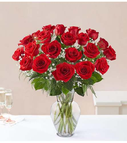 24-Ultimate Elegance™ Long Stem Red Roses