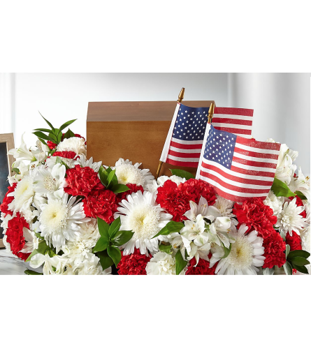 Spirit Of Patriotism Cremation Adornment
