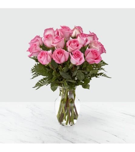 Pink Rose Smitten Bouquet