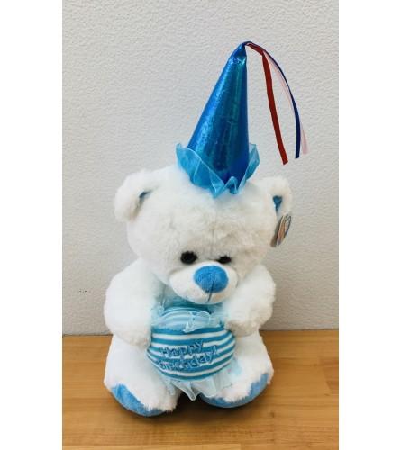 HAPPY BIRTHDAY PLUSH (BLUE)