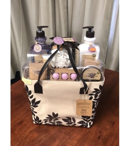 Tuscan Hill Bath Bag Gift Set