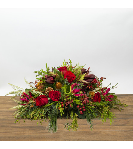 Holiday Oval Centerpiece