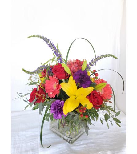 Colorful Kisses Bouquet