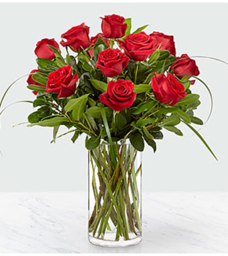 FTD Everlasting Love Red Rose  Bouquet