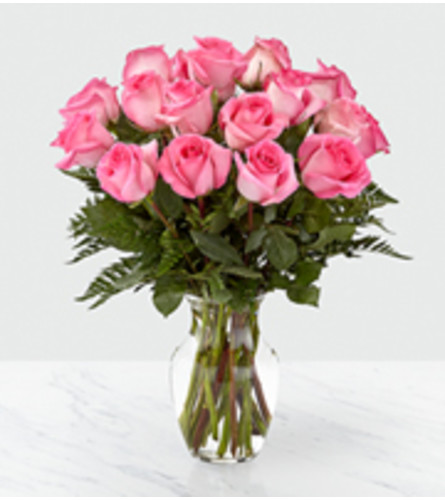 FTD Smitten Pink Roses bouquet