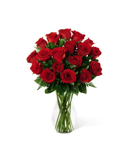 The FTD Red Rose Romance Bouquet