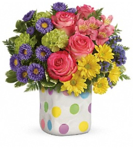 Teleflora's Happy Dots