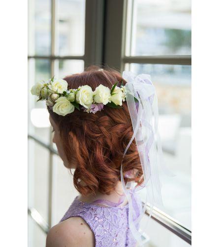 Rosey Flower-Crown