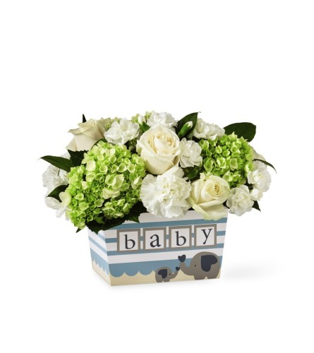 The FTD® Darling Baby Boy Bouquet