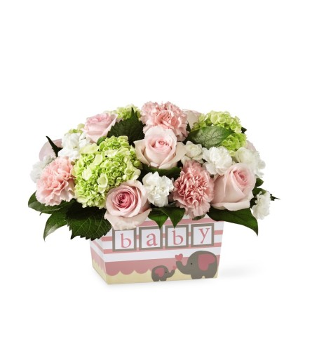 The FTD® Darling Baby Girl Bouquet