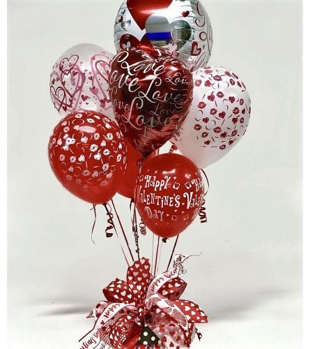 Valentine Balloon Bouquet-Candy