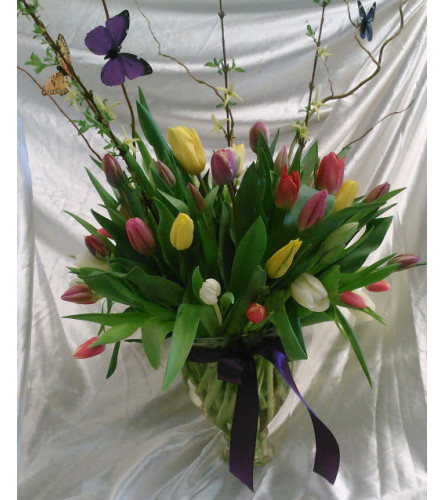 Dancing Over Tulips