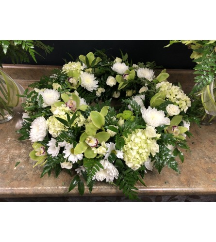Natural Beauty Urn Wreath