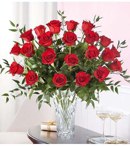 Marquis by Waterford® 24 Premium Long Stem Red Roses