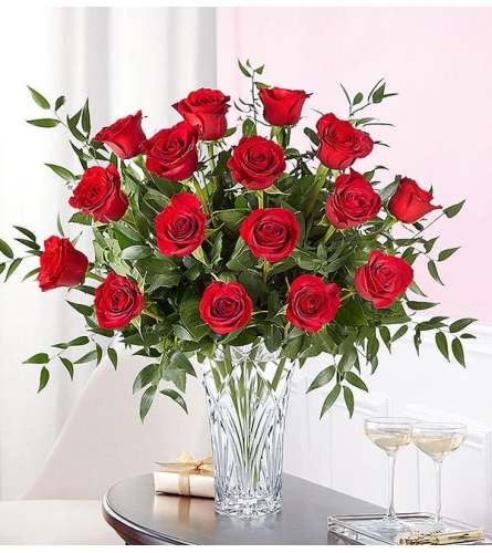 Marquis by Waterford® 18 Premium Long Stem Red Roses 2020