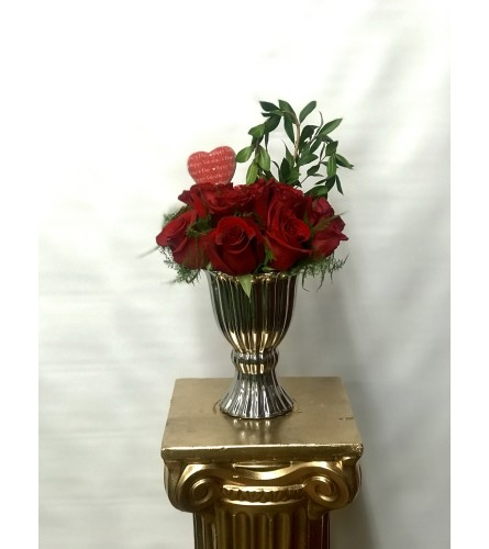 Dozen Roses for Valentine's Day