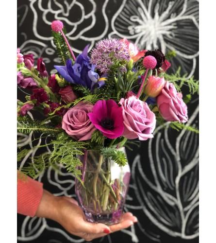 Geometric Pinks Florals