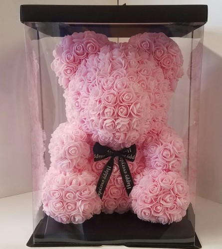 beary Rose Teddy Pink