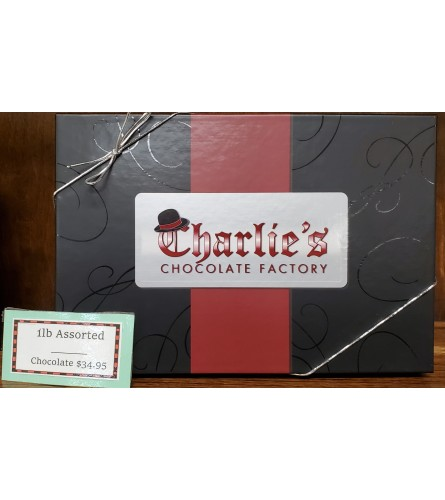 Charlie's Chocolates 1lbs Box Assorted