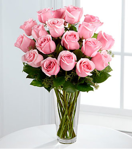 The Long-Stem Pink Rose Bouquet FTD