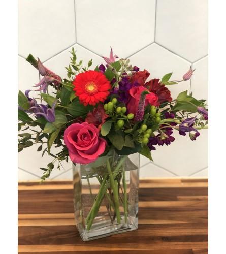 Jewel Toned Love Florals