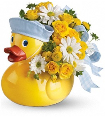Teleflora's Ducky Delight Blue
