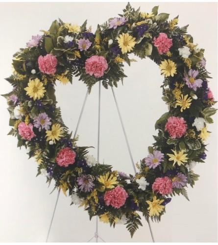 Large Heart Wreath
