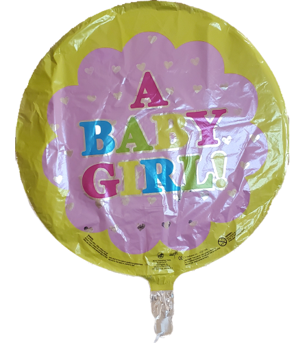 """It's a Girl"" Balloon Round"