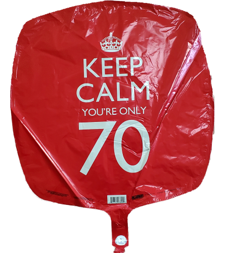 70 Years Balloon