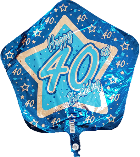 40 Years Balloon