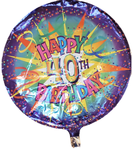 40 Years Balloon Round
