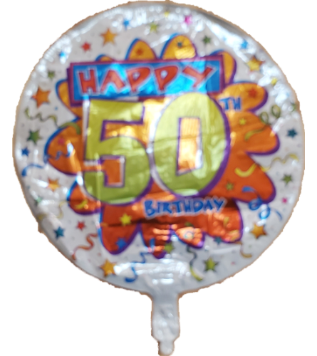 50 Years Balloon Round