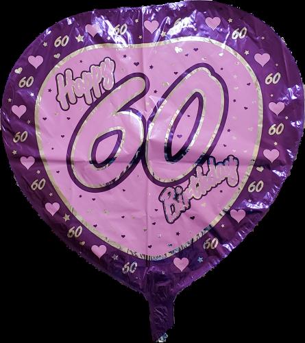 60 Years Balloon