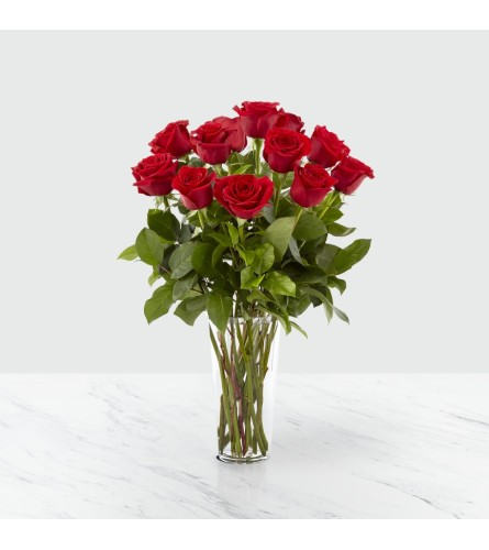 FTD's Dozen Red Roses no BB