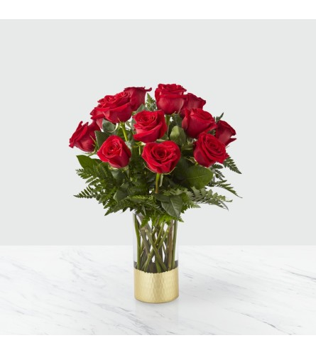 FTD's Gorgeous Red Rose Bouquet by TCG