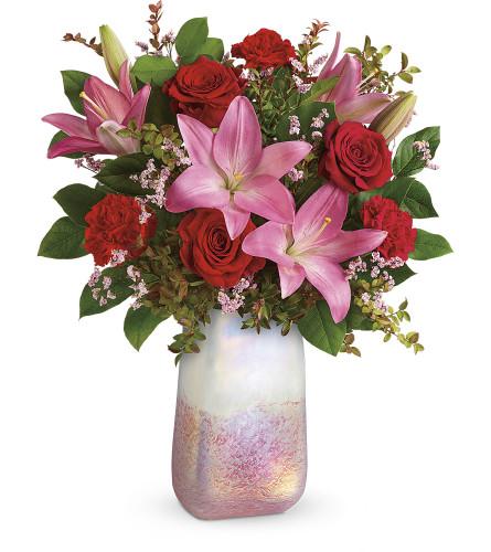 Teleflora's Pretty in Quartz Bouquet by tcg