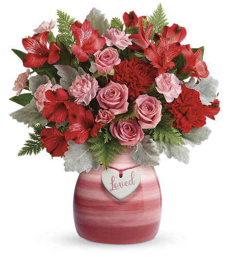 Teleflora's Playfully Pink Bouquet by tcg