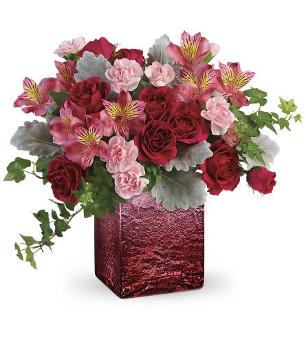 Teleflora Ooh La Ombre Bouquet by tcg