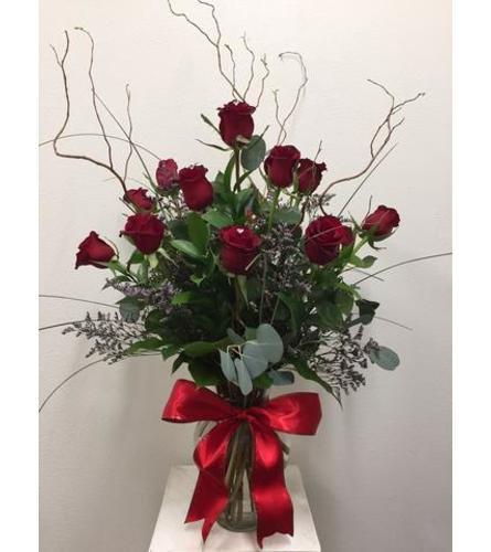 1 Dozen Ravishing Roses