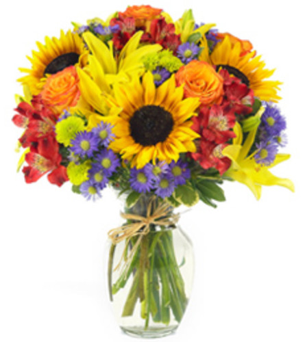 The Garden Market Flower Bouquet