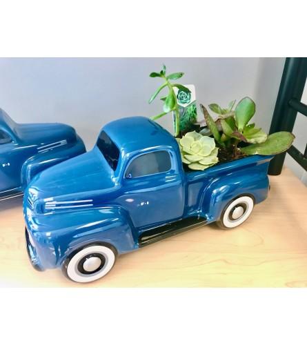 Teleflora's Ford Pick Up Succulent Garden